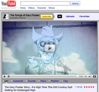 Gary Floater on YouTube
